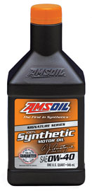 AMSOIL 0W-40 Synthetic Motor Oil