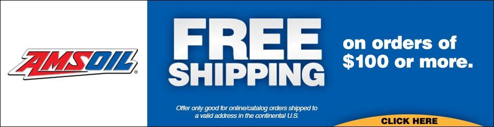 AMSOIL Free Shipping!