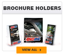 AMSOIL brochure holders