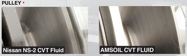 AMSOIL Synthetic CVT Protection